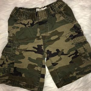 Children's Place Camo Cargo Shorts
